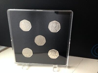 ACRYLIC COIN DISPLAY CASE,TRAY FOR BEATRIX POTTER 2016,2017,2018 50p