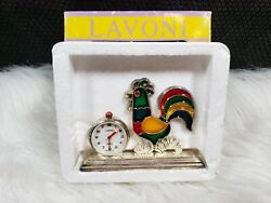 Lavoni Rooster / Chicken Table Clock