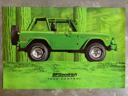 B.F. Goodrich Ford Bronco Poster Mint Condition