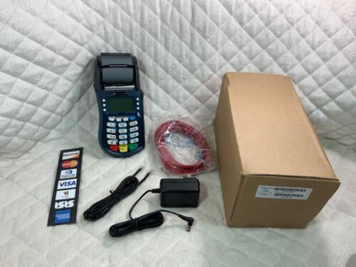 EQUINOX Model T4220 Credit Card Machine & Box -- NEW OPEN BOX