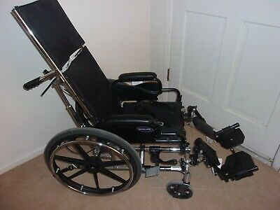 Reclining Back Wheelchair (Pediatric Wheelchair Invacare 9000 JYMNI 14