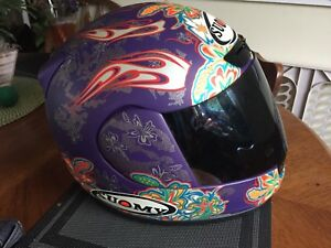 Ladies Suomy Motorcycle Helmet