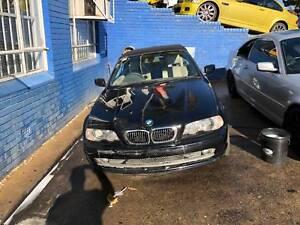 BMW 330CI E46 BLACK WRECKING COMPLETE CAR FOR PARTS BMW 330CI AUT Northmead Parramatta Area Preview