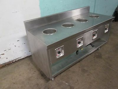 Randell H.d. Commercial S.s. 68w 4 Wells Hot Soup Serving Station 120v 1ph
