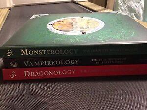 OLOGY BOOKS, vampireology, dragonology,monsterology