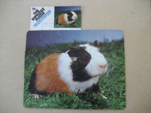 Shmuzzle Puzzle GUINEA PIG Early Childhood Version TURTLE-SHAPED PIECES