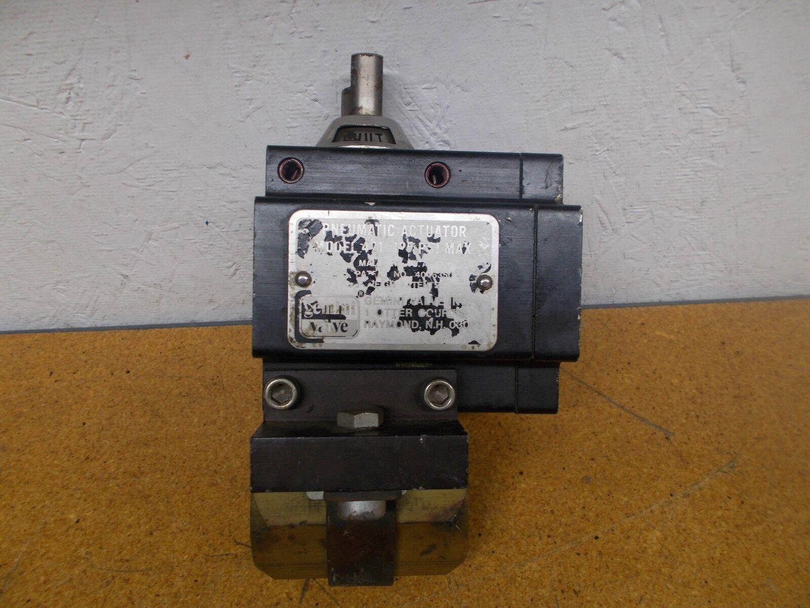 Gemini Valve B411 Pneumatic Actuator 125 PSI