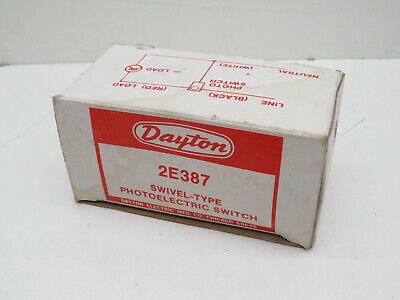 Dayton 2e387 Swivel Type Photoelectric Photo Control Light Sensor Switch 1200w
