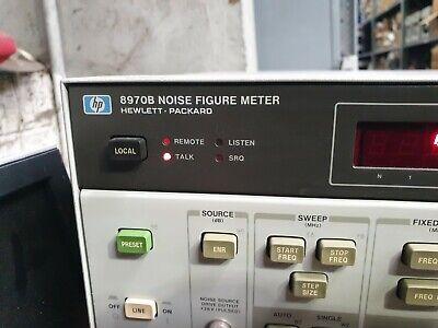 Hp 8970b Noise Figure Meter In26s3