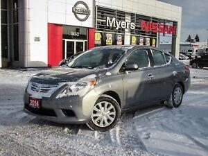 2014 Nissan Versa 4 DOOR, HEATED SEATS/MIRRORS, A/C