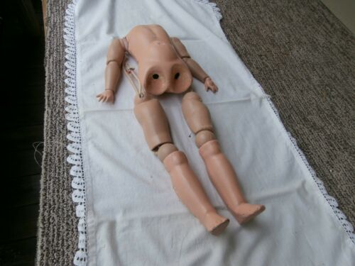 "18"" Ball Jointed Body, Only, for German Bisque Doll Head  - Repair/Parts"