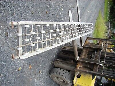 12 X 10 Speedways Aluminum Gravity Roller Conveyor