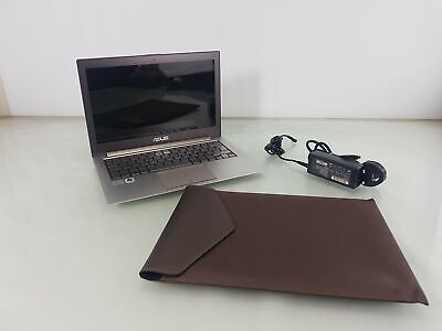 ASUS ZenBook 13 in Laptop i7-2677M 1.80 GHZ 4GB 256 GB SSD Win 10 Pro