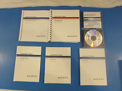 Commvault Galaxy Data   Storage Management Software  5 Manuals   3 Cd Rom