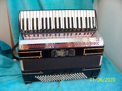 Alpstar IV 120 Black forest ? accordian  Mussette  cassoto Accordion Beautiful