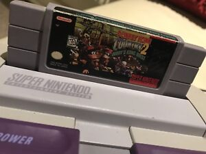Donkey Kong Country 2 Diddy Kong Quest For SNES