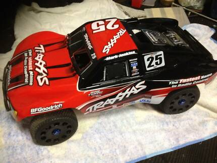 traxxas slayer 3.3 pro converted to brushless Bayswater Knox Area Preview
