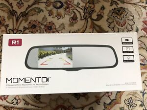 "Momento 4.3"" mirror and back up camera"