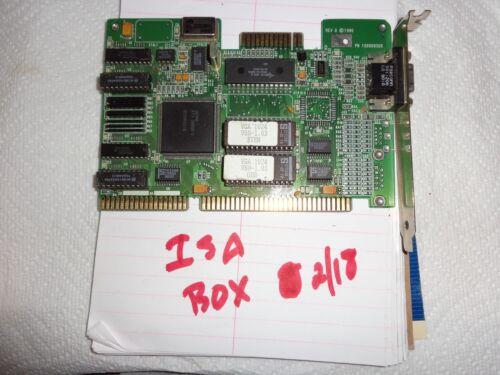 Rare ISA ATI VGA Wonder Video Card Model 109009500 working pull
