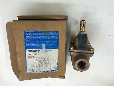 New Watts Feed Water Pressure Regulator 12 1156f