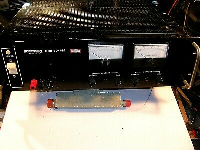 Sorensen Dcr60-18b Power Supply 0-60vdc 0-18amps