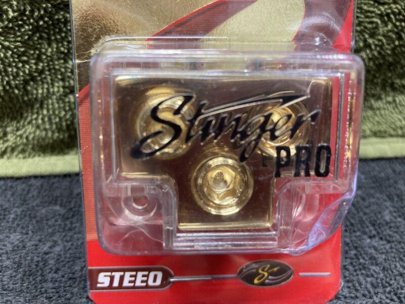 Stinger 24kt Gold Plated Power Distribution block.