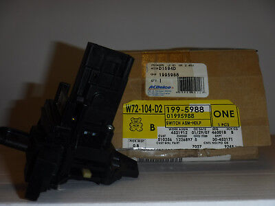 - Genuine GM multifunction switch 1995988