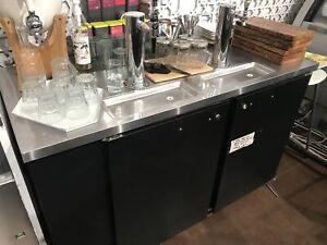 Réfrigérateur bar à bière 6 pieds