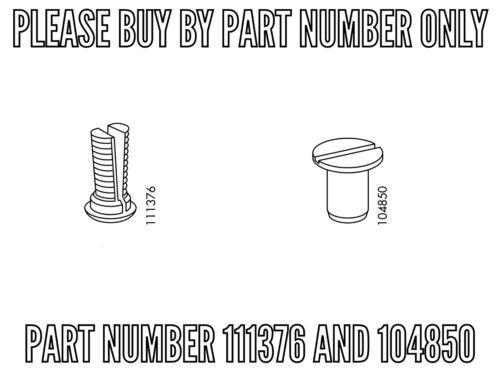 4 IKEA 111376 AND 4 IKEA 104850 MALE AND FEMALE SLATS HOLDERS
