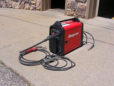 Snap-on Synergic Inverter Mig 160i Welder For Steel Stainless Steel Aluminum