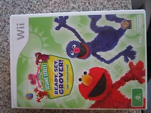 Sesame Street - Ready Set Grover Wii Game ***BRAND NEW*** Campbell North Canberra Preview