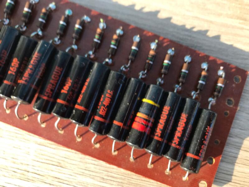 18 QTY Black Beauty SPRAGUE .022 Vintage Capacitors Bumblebee HiFi Guitar TONE