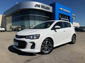 2018 Chevrolet Sonic LT Auto HEATED SEATS SUNROOF REAR CAMERA!!!