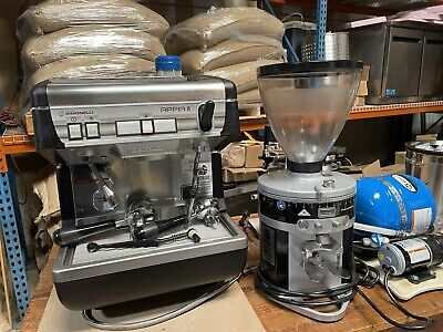 Commercial Espresso Machine And Commercial Grinder