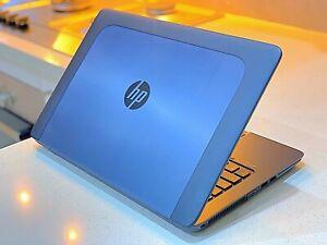 """UltraFast HP zBook intel™ i7-256GB SSD-16GB-14""""LED-M4150-FireGL V-WIN"""