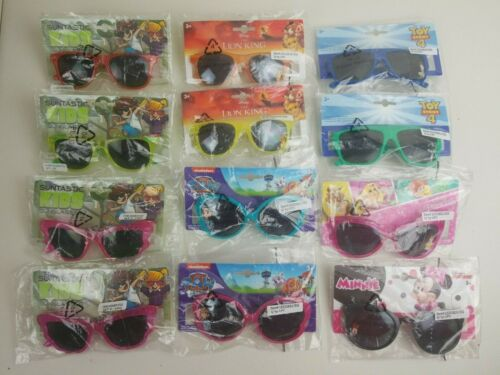 Lot of 12 New With Tags Kids Sunglasses With UV Protection