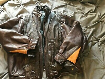 Vintage Challenger Leather Jacket
