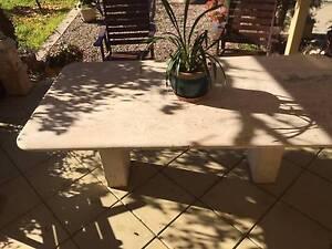 Travertine marble table Strathfieldsaye Bendigo City Preview