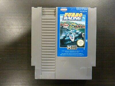 Nintendo NES  Turbo Racing Vers. FRA