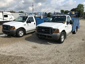 2 2005 Ford F-350 SRW Service Trucks