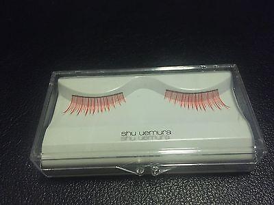 shu uemura Slant Red false eyelashes, New In -
