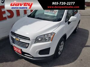 2016 Chevrolet Trax LS POWER WINDOWS, POWER MIRRORS, POWER LOCKS