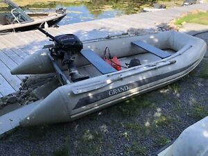 Heavy duty Inflation boat and motor for sale