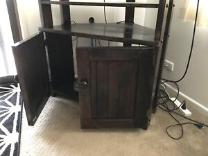 **URGENT SALE** - Brown Stained Wood Furniture