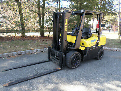 Hyster Fortis H80ft Forklift Truck 8000 Lbs. Lift Capacity V6 And 6 Forks