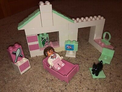 1993 Vintage Girl's Lego Duplo 1540 Betsy's Bedroom Set INCLUDES BOX