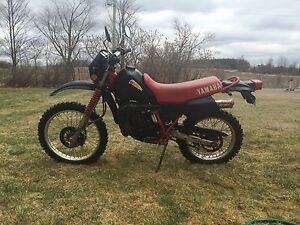 Street legal 2 stroke dirtbike