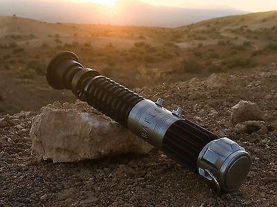 Obi Wan Kenobi Lightsaber Star Wars New Hope 1:1 Replica Graflex Cosplay