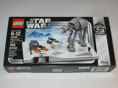 Lego Star Wars Battle of Hoth 20th Anniversary Edition Promo (40333)