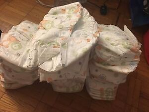 Size 6 Walmart diapers Asking $10